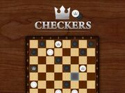 Checkers Board Game Online